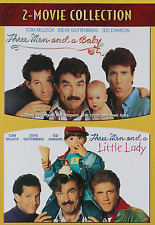 Three Men and a Baby/Three Men and a Little Lady [DVD, NEW] FREE SHIPPING
