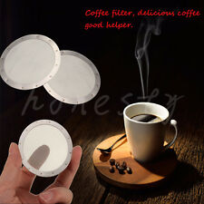 Aero Press Solid Ultra Fine Stainless Reusable Metal Steel Coffee Filter New