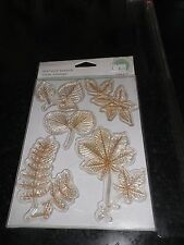 "Martha Stewart""Leaf ad Branch"" Clear Rubber Stamps"