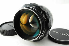 [Excellent++++] Minolta MC Rokkor-PG 58mm f/1.2 Lens From Japan Free Shipping