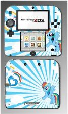 Rainbow Dash MLP My Little Pony Heart Video Game Decal Skin Cover Nintendo 2DS
