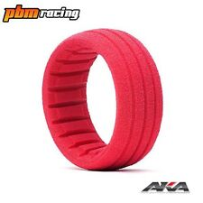 AKA 1/8 Buggy Scala / SC SHAPED insert rosso (SOFT) (4 pz) - 34001S