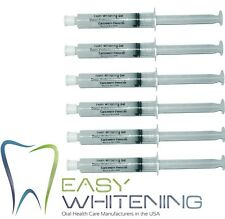 HOME BLEACHING TOOTH WHITENING-60CC(6X10Cc)PEROXIDE CARBAMIDE 35%- FREE SHIPPING