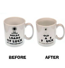 Future Luck    Old as F*ck  Heat Change Mug
