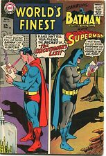 WORLD'S FINEST #171 - SUPERMAN & BATMAN TEAM-UP - 1967