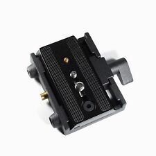 R 577 Rapid Connect Adapter Clamp 501PL Plate For Manfrotto Tripod 701HDV 501HDV