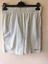 Mens Off White Nike Tennis Shorts Uk Size Medium Rrp £40