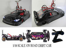 1/10 Scale Subaru Impreza WRX STI RTR Custom RC Drift Cars 4WD 2.4Ghz & Charger