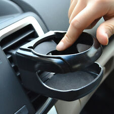 Black Car Air Vent Outlet Mount Cups Bottle Beverage Drinks Stand Holder Bracket