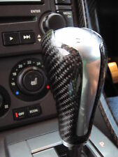Gear Knob shift stick Black Carbon Fibre fiber for Range Rover Sport TDV8 HST