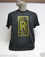 T-Shirt Rock´n Roll Rolls Royce GOLD - Gr. S - XXXL - Siebdruck