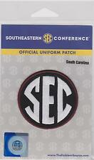 SOUTH CAROLINA GAMECOCKS  SEC  FOOTBALL JERSEY UNIFORM PATCH NCAA COLLEGE