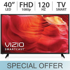 "VIZIO 40"" inch 1080p Full HD 120Hz Smart LED LCD TV w/ 2 HDMI & USB - E40-D0"