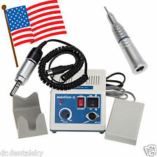 Dental Lab Marathon Electric Micro Motor Low Speed Straight Handpiece USPS to US
