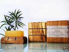 Green Junction's Handcrafted Wooden Soap Dish (Recycled Teak Wood ) Piece 2