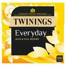 Twinings Everyday 100 Tea Bags 290G - Sold Worldwide From UK