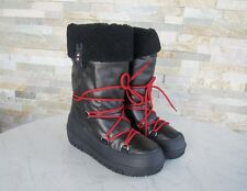 NAPAPIJRI Gr 37,5 Stiefel Fell Moonboots Schuhe shoes BELLA black NEU UVP 110€