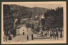 Lazio. FONTANA LIRI, Frosinone. Passeggiata S. Rocco. Viaggiata nel 1946.