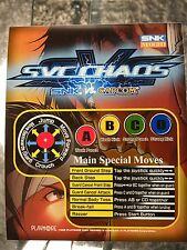 SVC Chaos Reproduction Neo Geo Mini Arcade Marquee