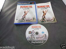Sony Playstation 2 PS2 Game Resident Evil Outbreak File #2 Complete