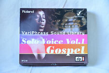 Roland VariPhrase Sound Library Solo Voice Vol.1 (Gospel) VP-Z-01 w/ box