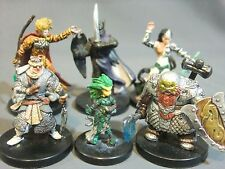 Dungeons & Dragons Miniatures Lot  Player Characters Unique !!  s83
