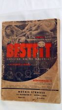1952 BESTFIT Genuine Swiss Material Watch Parts Catalog Plus 2 more