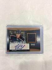 2005 06 Trilogy Rick Nash Auto Jersey Honorary Scripted Swatches 2/10