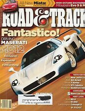Road & Track May 2005 - Maseati MC12 - Lola T70 - Audi A6 Avant - Lexus IS350