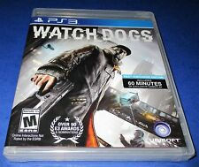 Watch Dogs Sony PlayStation 3 *Factory Sealed! *Free Shipping!