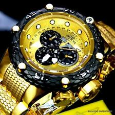 Invicta Subaqua Noma VI 6 52mm Swiss Chronograph Gold Plated Steel Watch New