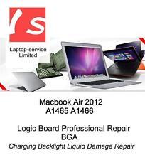 Macbook Air 2012 A1465 A1466 Logic Board Professional Repair Service