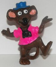 MUPPETS Rizzo the Rat with Camera Figurine 2 1/4 inch Plastic Miniature Figure