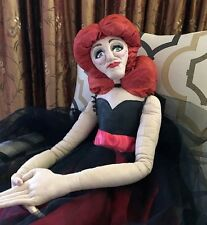 """Soft Sculpture Pop Art Lady Diva 54""""H Hand Painted Fabric 1970's-80's Revived"""