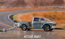 '69 Custom Chevy Stepside Pickup Keychain Porte Cles Llavero Schlüsselanhänger