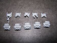 5 Space Marine Grey Knight Terminator bodies bits, 40K Games Workshop