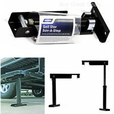 Camco RV Self Store Step. Folding Stabilizer Stairs Support Trailer Camper Brace