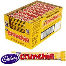48 x 40g Cadbury Crunchie Chocolate Bar Bulk Buy Worldwide Delivery From the UK