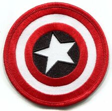 MARVEL COMICS Captain America Shield EMBROIDERED PATCH -mvl2 star *Free Shipping