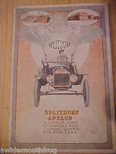 Splitdorf Apelco A Single Unit Starting And Lighting System For Ford Cars 1915