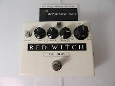 RED WITCH FAMULUS FUZZ/OVERDRIVE EFFECTS PEDAL SOUNDS KILLER FREE USA SHIPPING