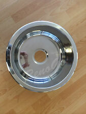 430mm Round Laundry or Kitchen Stainless Steel Sink - Undermount or Drop In