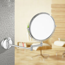 Adjustable Wall Mounted 3X Magnifying Makeup Mirror 360-degree Swivel Function