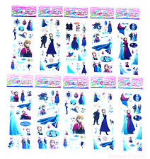 20 FROZEN 3D STICKERS Girls Kids Birthday Party Gift Bag Fillers Childrens Loot