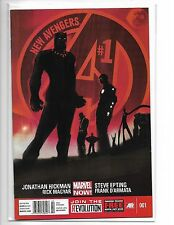 NEW AVENGERS #1 JONATHAN HICKMAN MARVEL NOW BLACK PANTHER