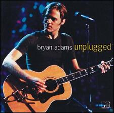 BRYAN ADAMS - UNPLUGGED CD ~ SUMMER of 69~CUTS LIKE A KNIFE~HEAVEN ~ MTV *NEW*