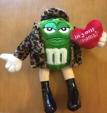 M&M Plush Green In Leopard Print Jacket 8""