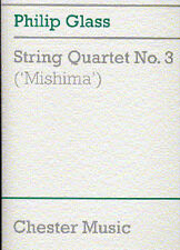 Philip Glass String Quartet No. 3 Mishima Score Learn Cello Violin Music Book