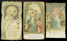 lotto santini-holy cards lot-lot images pieuses-konvolut heiligenbildichen 2504