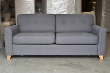 Zack Metal Action Double Sofabed Sofa Bed Harbour Grey £1150 New 12M Warranty